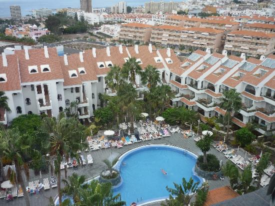 Paradise Park Fun Lifestyle Hotel: View from top deck