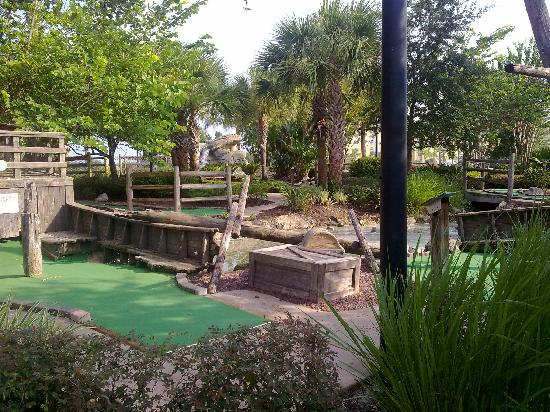 Marriott's Harbour Lake : mini golf