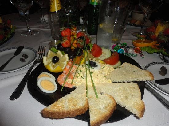 Ancora : Crab salad