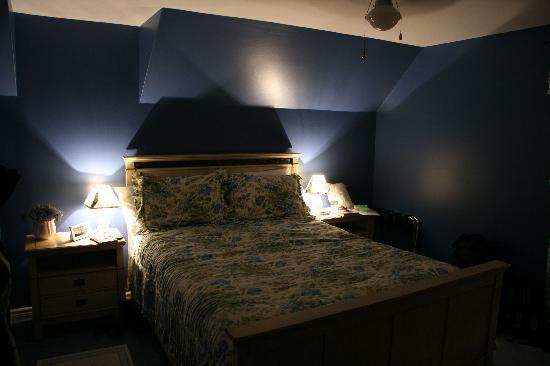 Wellington Willows B&B: Blue room