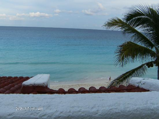 GR Caribe by Solaris : view from balcony, 3rd floor