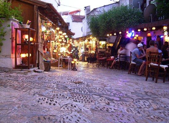 Kas, Turkije: ..am frühen Abend