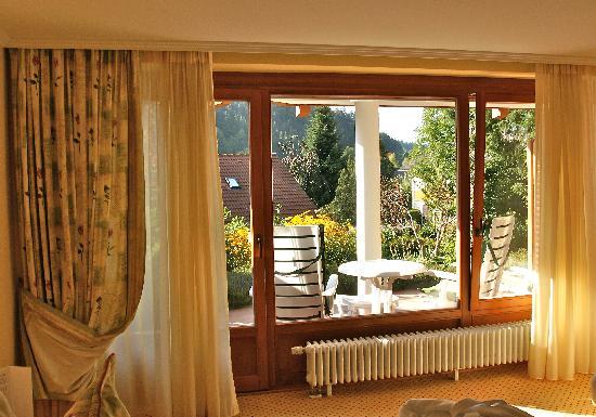 Erfurths Bergfried Ferien & Wellnesshotel: Himmelreich--patio area