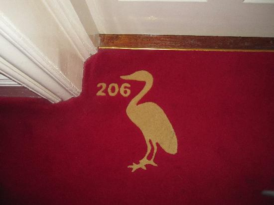 Dunbrody Country House Hotel: Every room gets their own duck