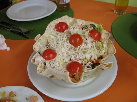Girasol Tex Mex: Ensalada