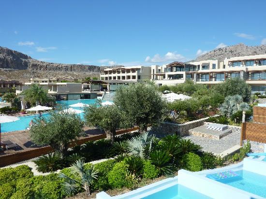 AquaGrand Exclusive Deluxe Resort: view of pool