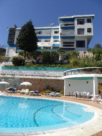 Ferreira do Zêzere, Portugal: Hotel and pool