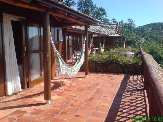 Pousada Vida Sol e Mar : Balcon habitaciones