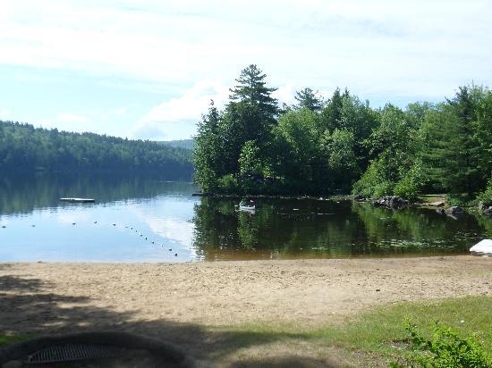 Cove Camping Area: beach area