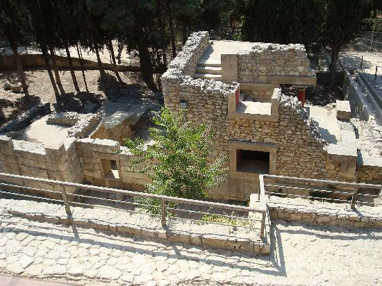 The Palace of Knossos: View from 2nd floor
