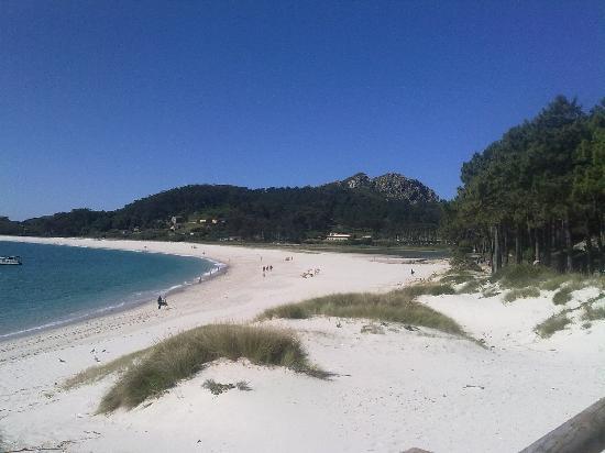 Playa de Rodas: La playa
