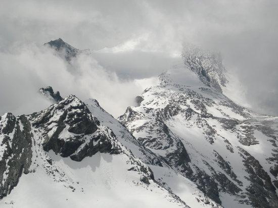 Seevilla Freiberg: Mountain in August