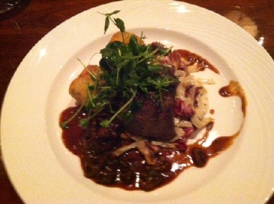Marc Restaurant : the buffalo tenderloin with tater tots!