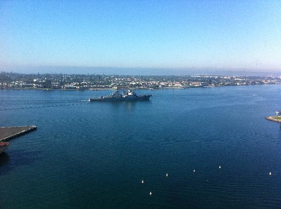 Hilton San Diego Bayfront: View from Room 1602
