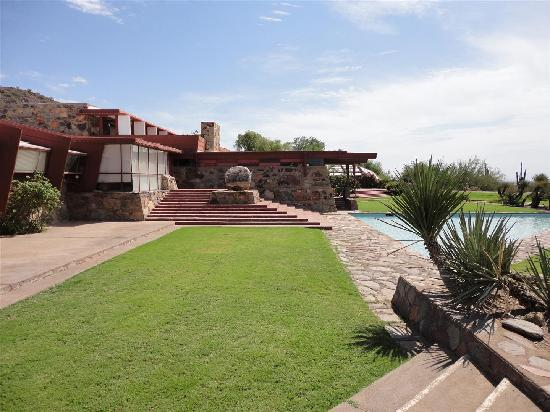 Taliesin West: View of Frank Lloyd Wright structure