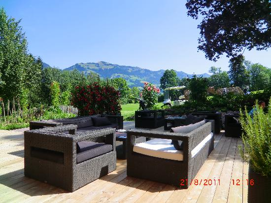 Rasmushof Hotel Kitzbühel: Terrace