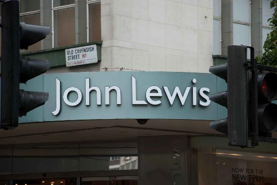 John Lewis: Hard to miss with signage like this!