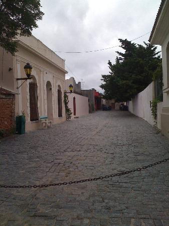 Colonia del Sacramento, Uruguai: Calles de adoquines