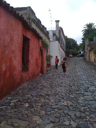 Colonia del Sacramento, Uruguay: Calle de los Suspiros