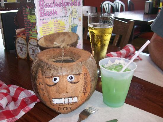 Dick's Last Resort: yummy drink
