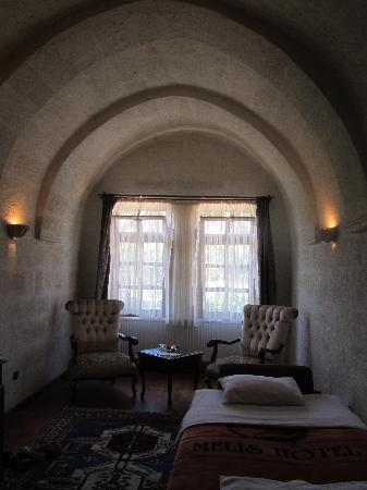 Melis Cave Hotel: The room