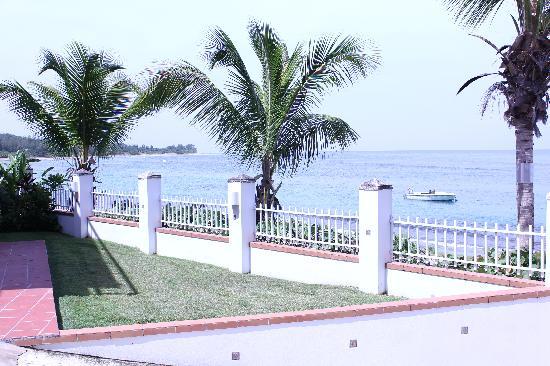 Villa Tropical Oceanfront Apartments on Shacks Beach: View from Villa Quiñones