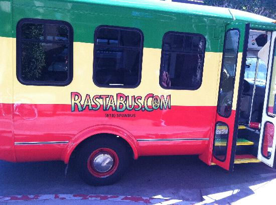 A Day in LA Tours: The bus!