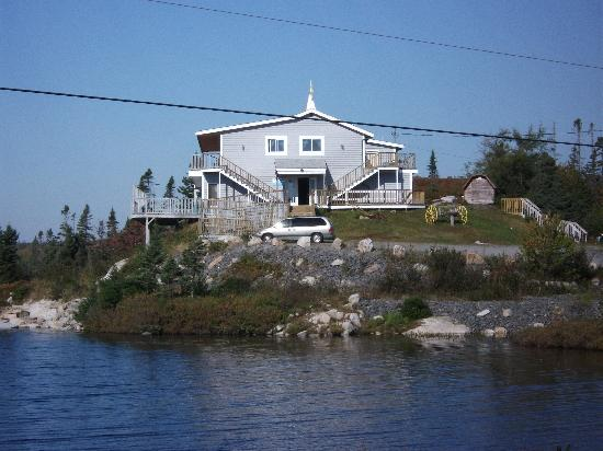 View of Big Lake Motel
