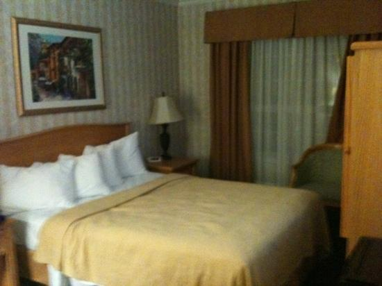 Quality Inn Downtown Inner Harbour: single room at 3rd floor clean room