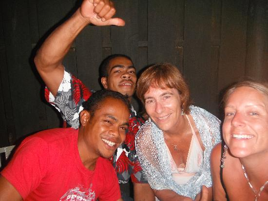 Savusavu Hot Springs Hotel: Reuben & friends