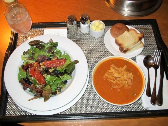 The Westin Prince Toronto: Westin Prince Room Service