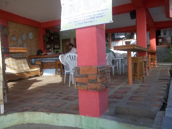 Jhanarieans Resort: Sitting area