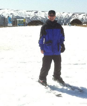 Trackers Mountain Lodge: Kevin at Falls Creek