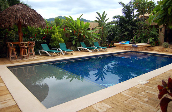 Casa Melray: Take a dip in the sparkling pool.
