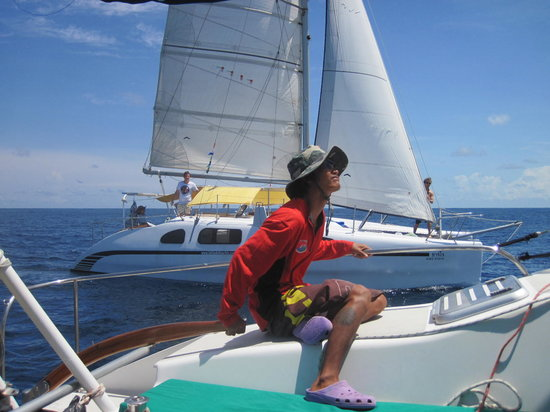 Cape Panwa, Tayland: Perfect conditions for a great sail