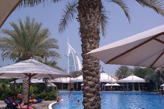 Jumeirah Dar Al Masyaf at Madinat Jumeirah : The big pool, with BAA in the background