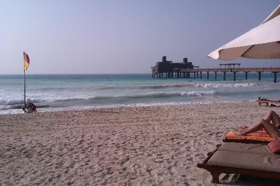 Jumeirah Dar Al Masyaf at Madinat Jumeirah : Pierchic restaurant on the pier off the beach