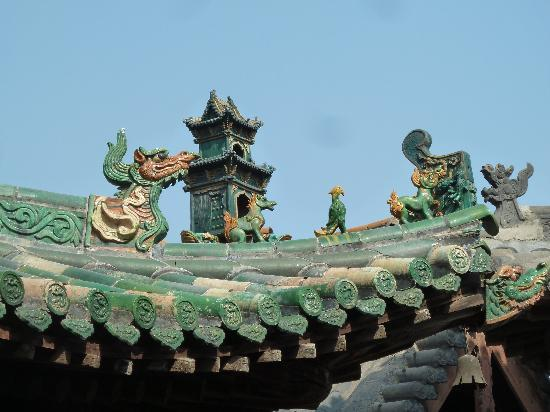 Yuci Ancient City: Dach