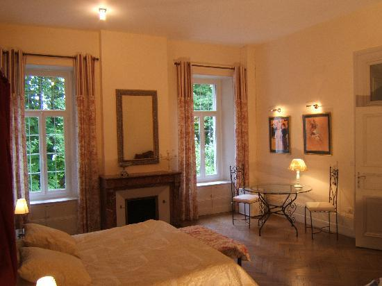 Viviez, Frankrike: Chambre belle époque
