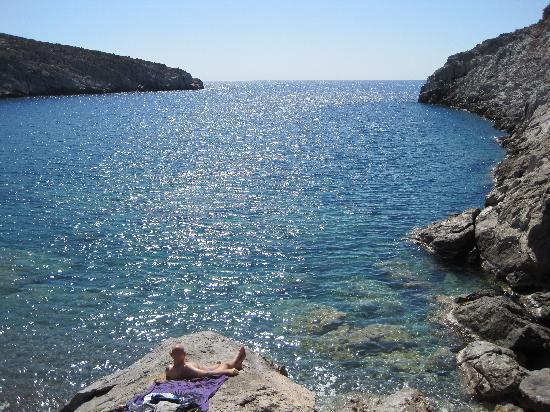 Tholaria Boutique Hotel Astypalaia: Spectacular sea