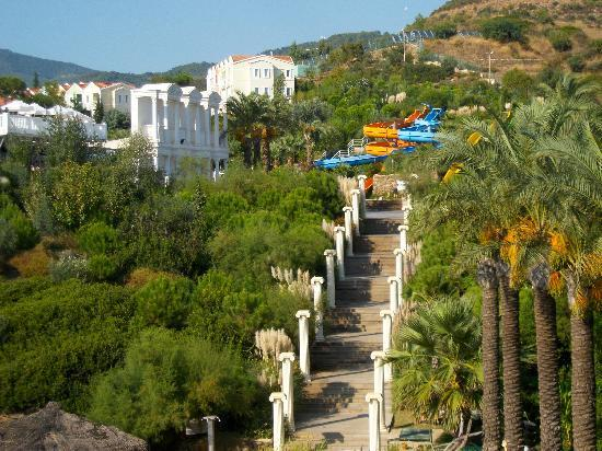 Club Marvy: Steps up from quiet beach