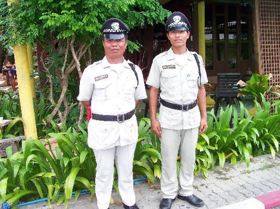 Centara Kata Resort Phuket: resort guards friendly dudes