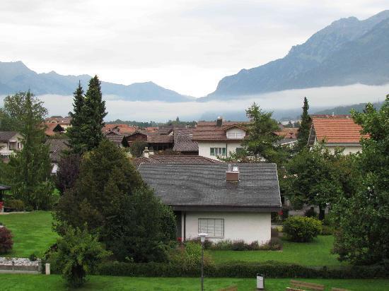 Alpina Hotel: view from room balcony