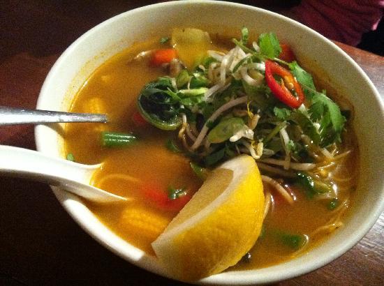 Asia Joe's: Tom Yum Soup