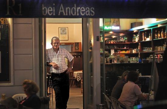 TA PANTA RI: Andreas heisst uns willkommen !