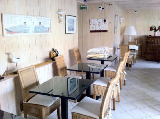 Hotel La Galiote : Der Frühstücksraum