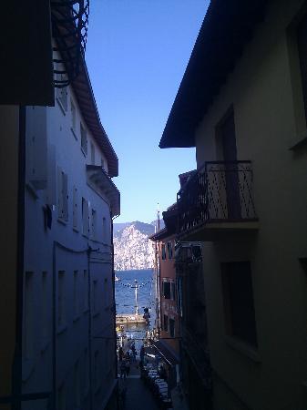 Hotel Alpino: Unsere Aussicht