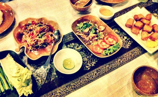 Thai Room: A typical delicious dish