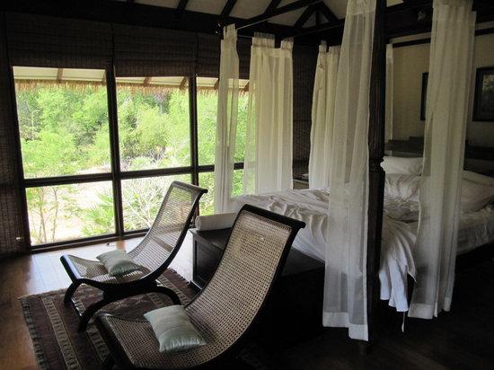 Ulagalla Resort: bedrrom
