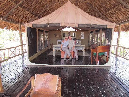 Katavi Wildlife Camp: la nostra tenda